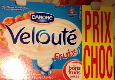 Velouté Fruix (Fraise, Framboise, Pêche, Abricot) Prix Choc - Prodotto - fr