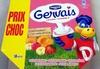 Gervais (Saveurs : Fraise, Banane, Pêche, Framboise, Abricot) 18 Pots - Product