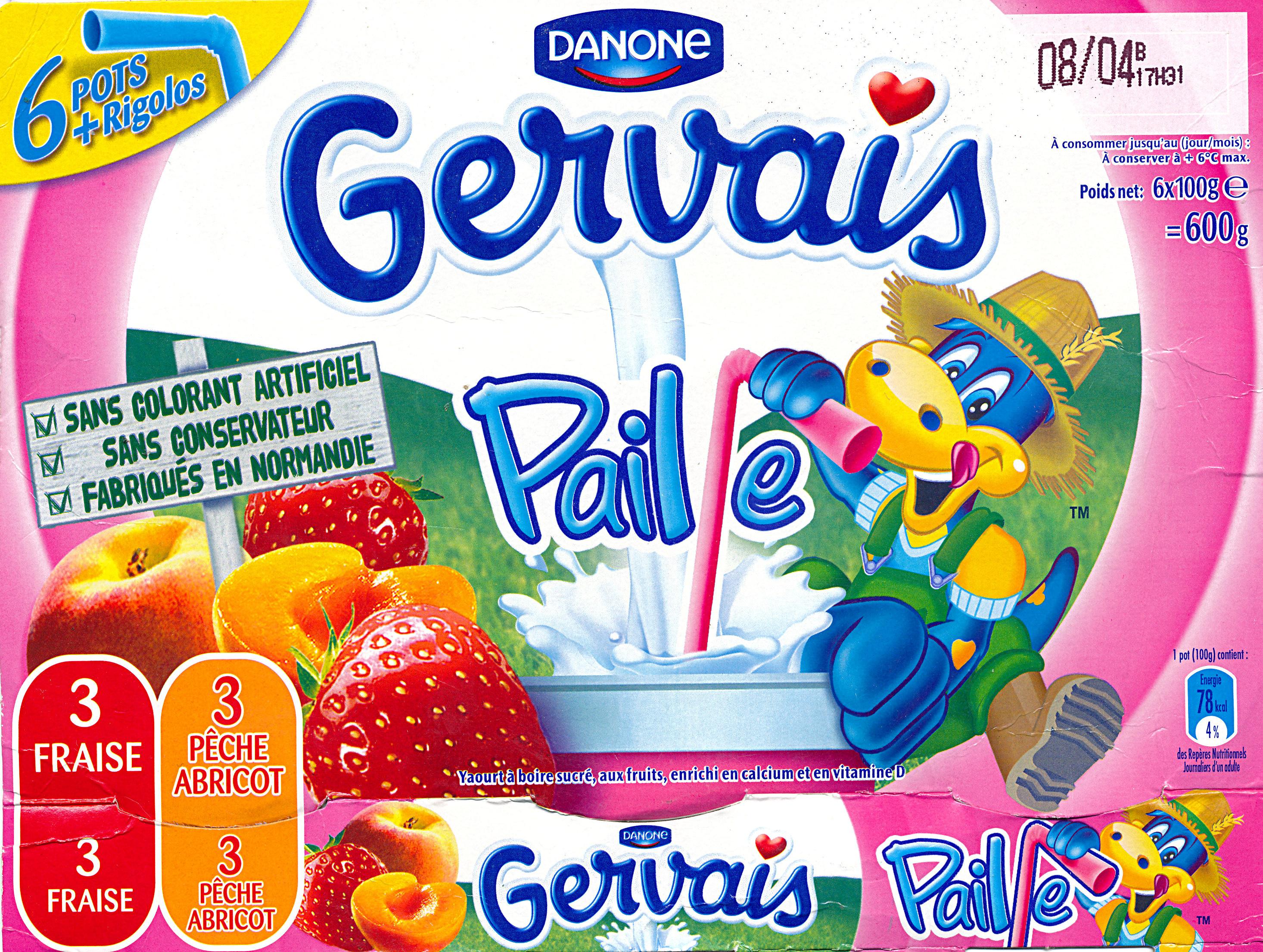 Gervais Paille - Product - fr