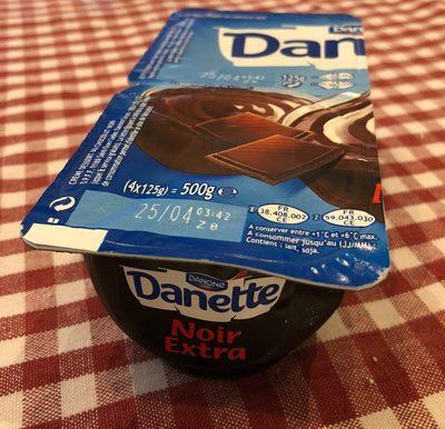 Danette noir extra - Produit