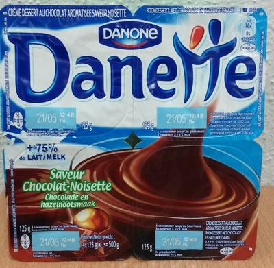 Danette Saveur Chocolat-Noisette - Produit - fr