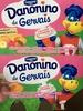 Danonino de Gervais saveur Fraise, Banane, Pêche, Framboise, Abricot - Product