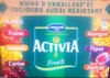 Activia Fruits (Fraise, Ananas, Cerise, Mangue, Figue, Abricot) 16 Pots - Product