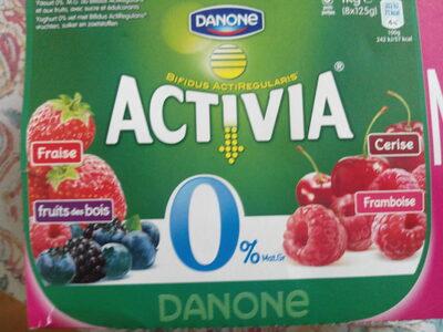 Activia 0% - Prodotto - fr