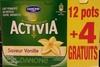 Activia (Saveur Vanille) 12 pots + 4 Gratuits - Product