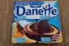 Danette saveur chocolat sur lit aux poires Danone - Produit