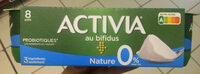 ACTIVIA Nature 0%MG - Product - fr