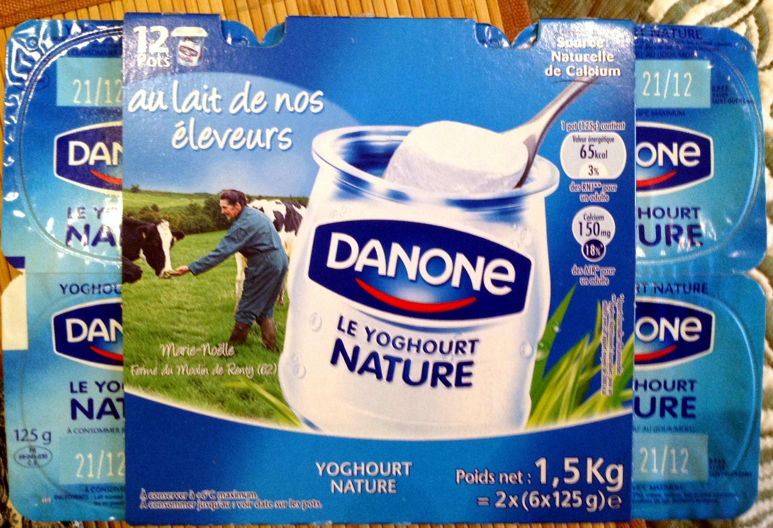 Le Yoghourt Nature - Product - fr