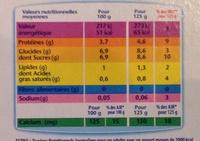 Le Yoghourt Nature - Nutrition facts - fr