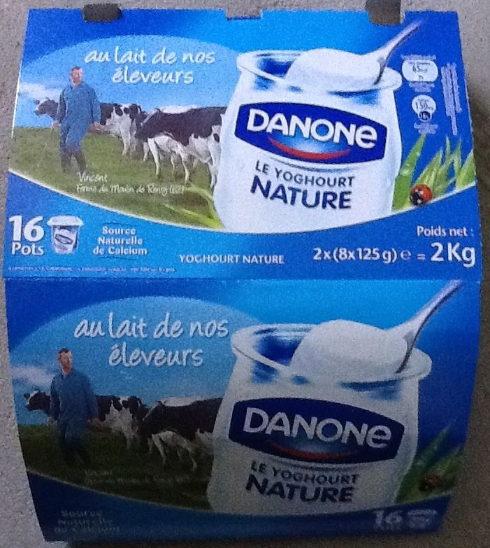 Le Yoghourt (Nature) 16 Pots - Product - fr