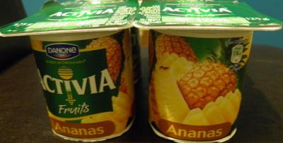 Activia Fruits (Ananas) - Produit - fr