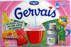 Gervais (Fraise, Framboise, Abricot, Pêche, Banane) - (2 % MG) 12 Pots - Product