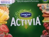 Activia aux fruits (ananas, rhubarbe, fraise, cerise) - Product