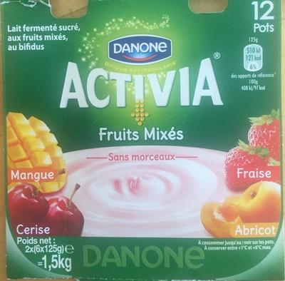 Activia fruits mixés - Product - fr