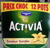Activia (Saveur Vanille) 12 Pots (Prix Choc) - Product