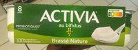 Activia (Brassé Nature) 8 Pots - Produit - fr