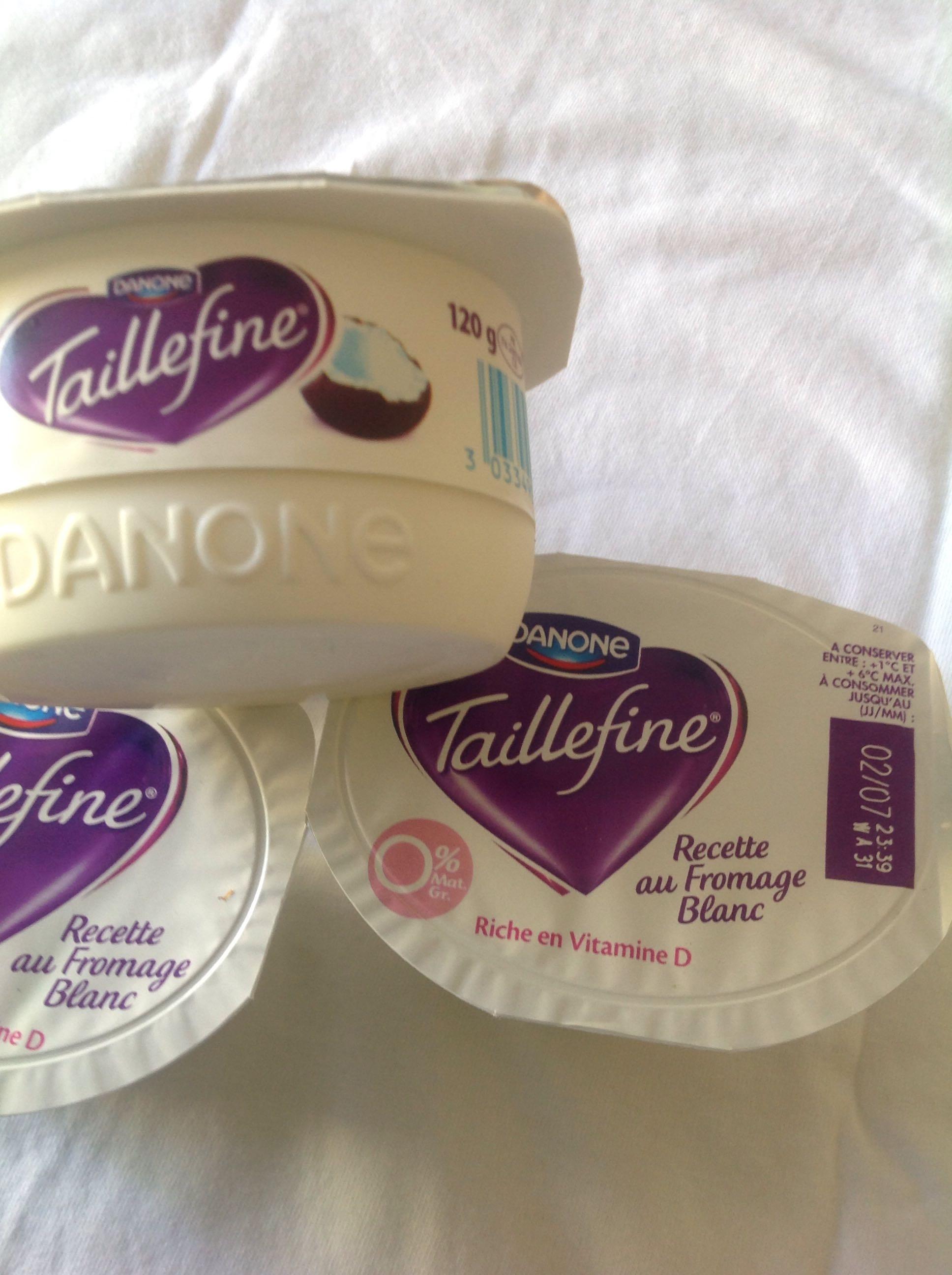 Fromage blanc Taillefine noix de coco - Produit - fr