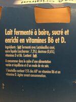 Actimel - Ingrédients - fr