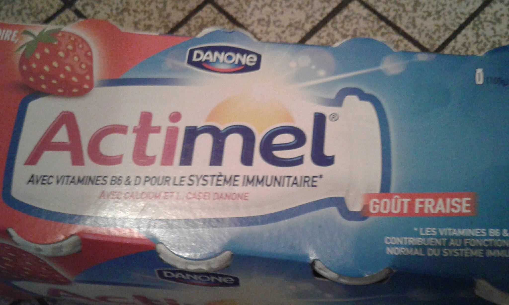 Actimel Fraise offre Anniversaire - Product - fr