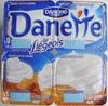 Danette (le Liégeois Caramel) 4 Pots - Product