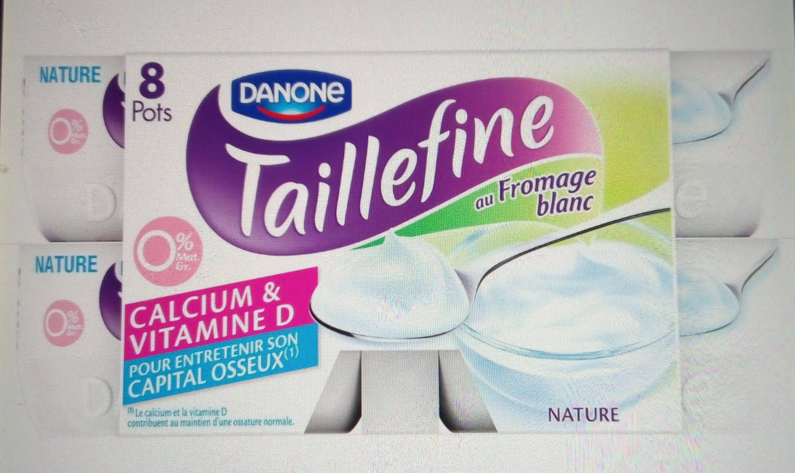 Taillefine Fromage blanc 0% - Produit - fr