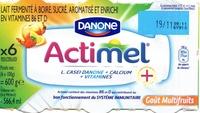 Actimel goût multifruits - Product