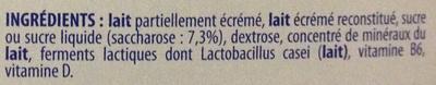 Actimel + (x 10 Bouteilles) - Ingredients - fr