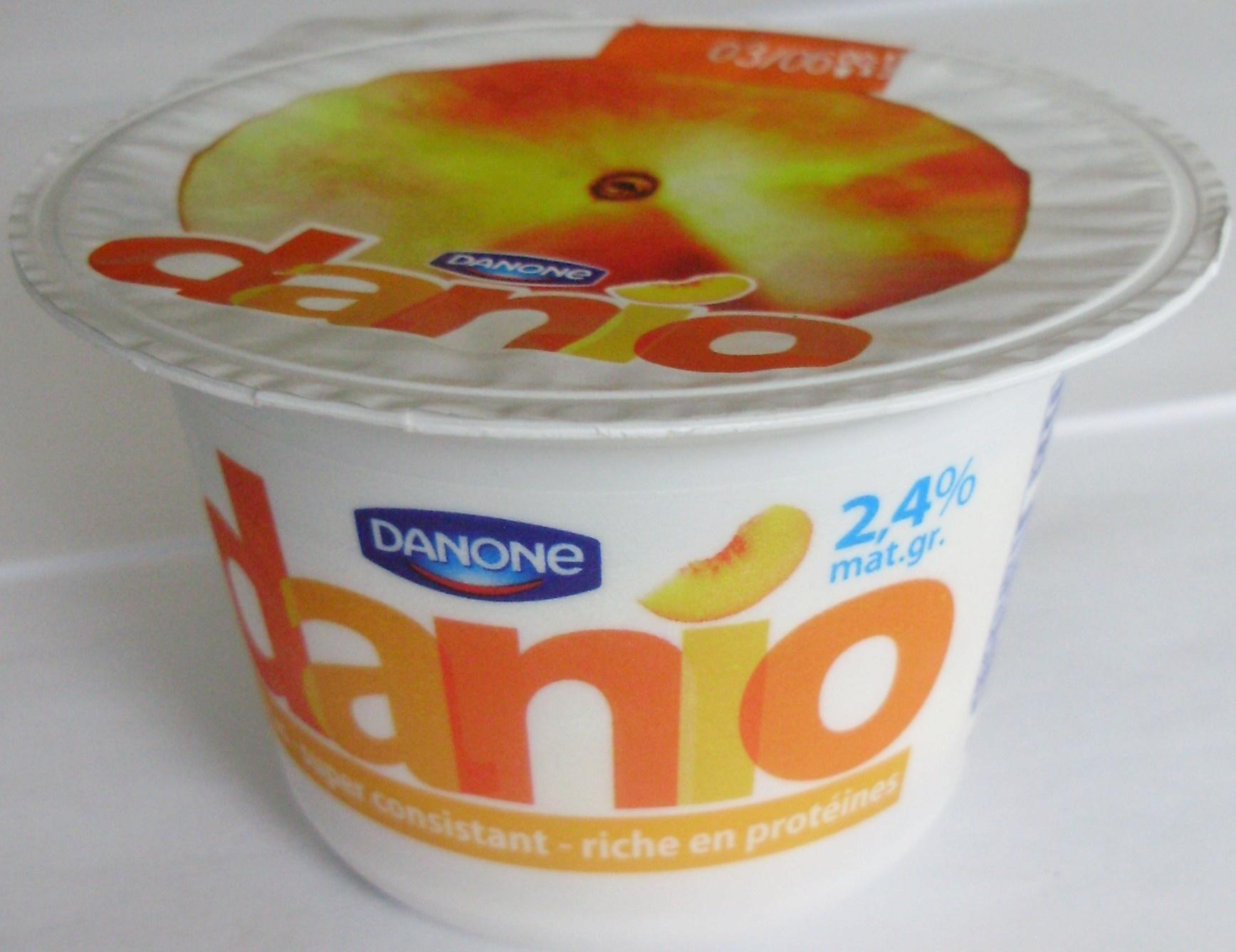 Danio Pêche (2,4 % MG) - Product - fr
