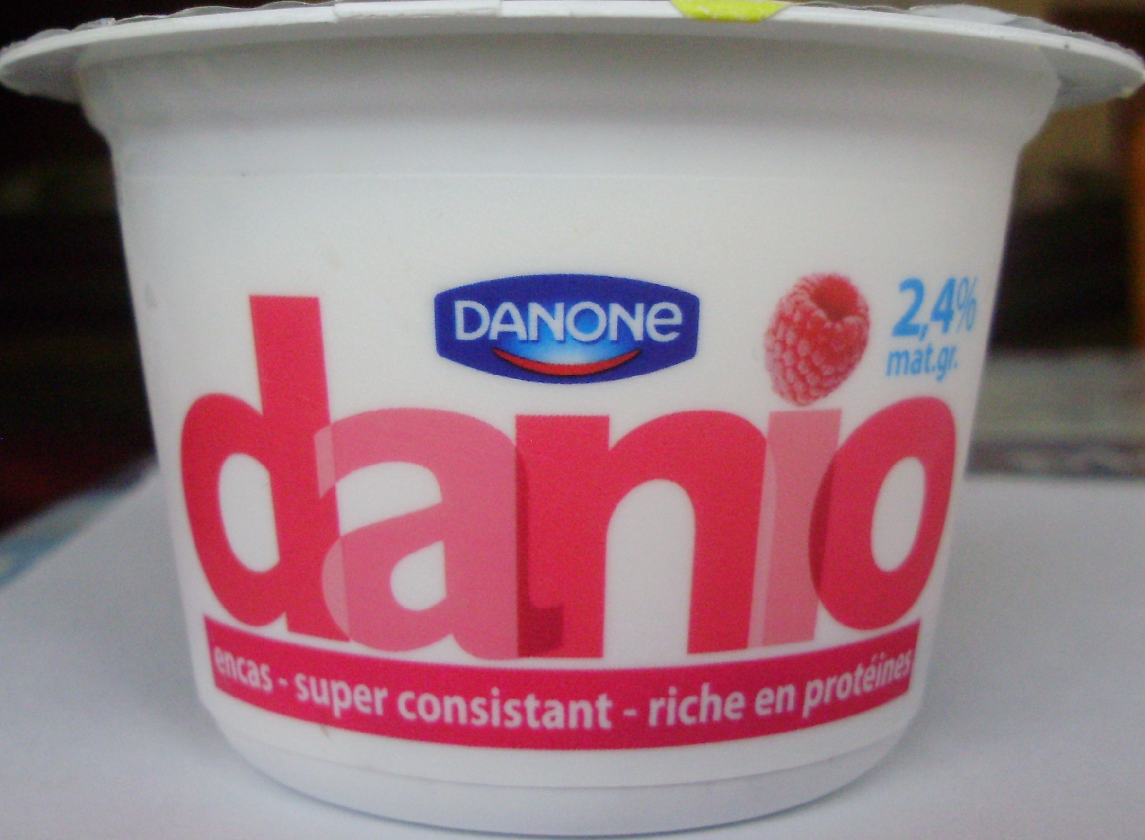 Danio Framboise (2,4 % MG) - Product