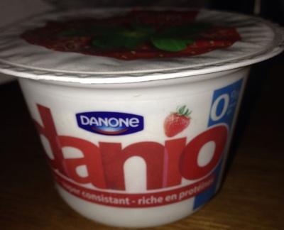 Danio Fraise 0% - Product