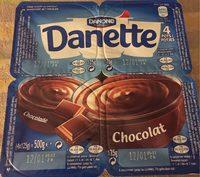 Danette Chocolate - Produit - fr