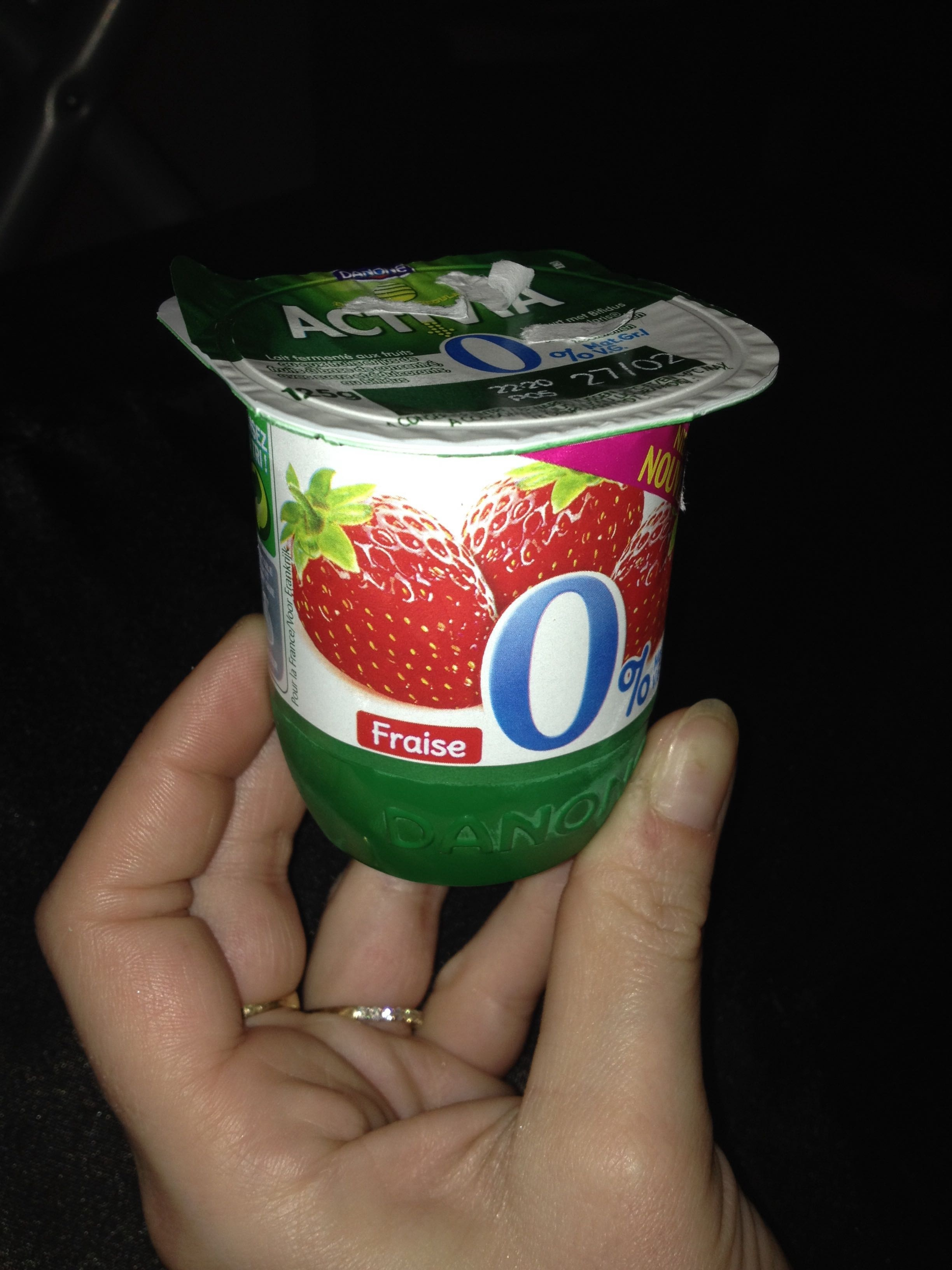 Activia 0% fraise - Product