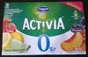 Activia 0% (Fraise, Citron-Citron vert, Pruneau, Pêche) - Product