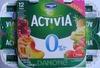 Activia (0 % MG) - (Cerise, Pêche, Ananas, Fraise) 12 Pots - Produit