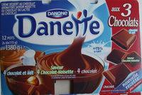 Danette aux 3 Chocolats - Produit - fr