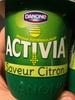 Activia Saveur Citron - Producto