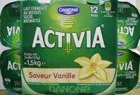 Activia (Saveur Vanille) 12 Pots - Product - fr