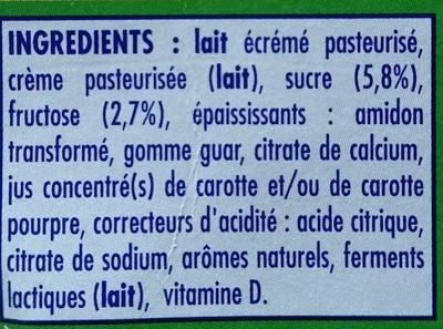 Danonino Gervais - Ingredients