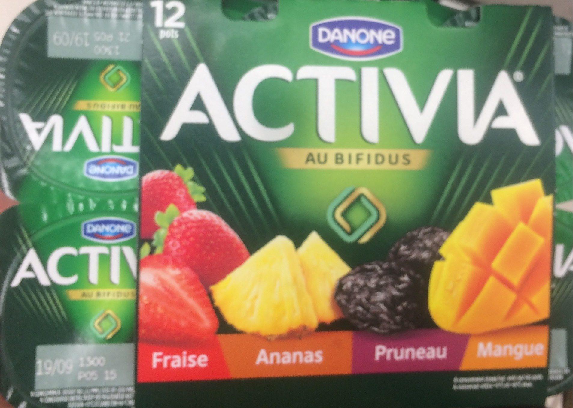 Activia fruits - Produit - fr