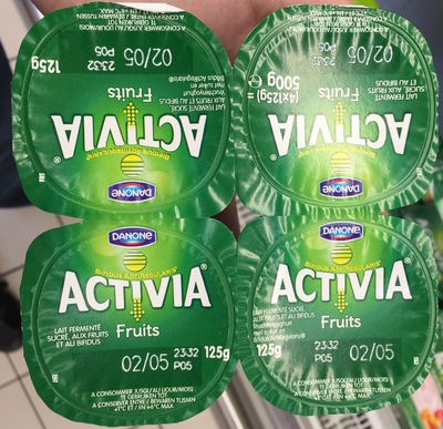 Activia Fruits Pruneaux - Product