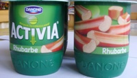 Activia Fruits (Rhubarbe) - Product