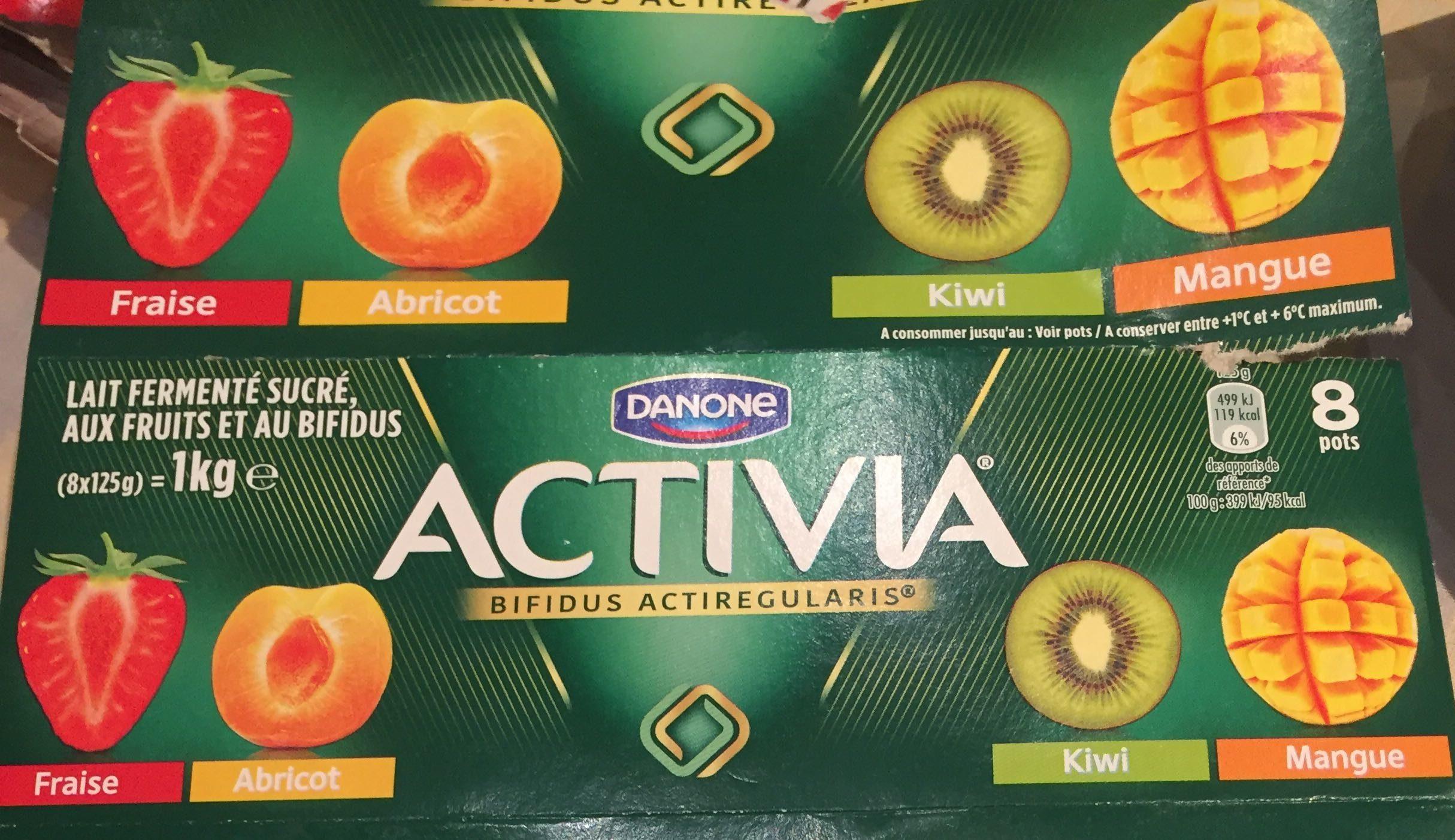 Activia aux fruits - Produit