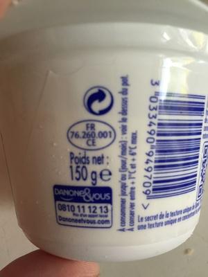 Danio Mangue (0 % MG) - Product - fr