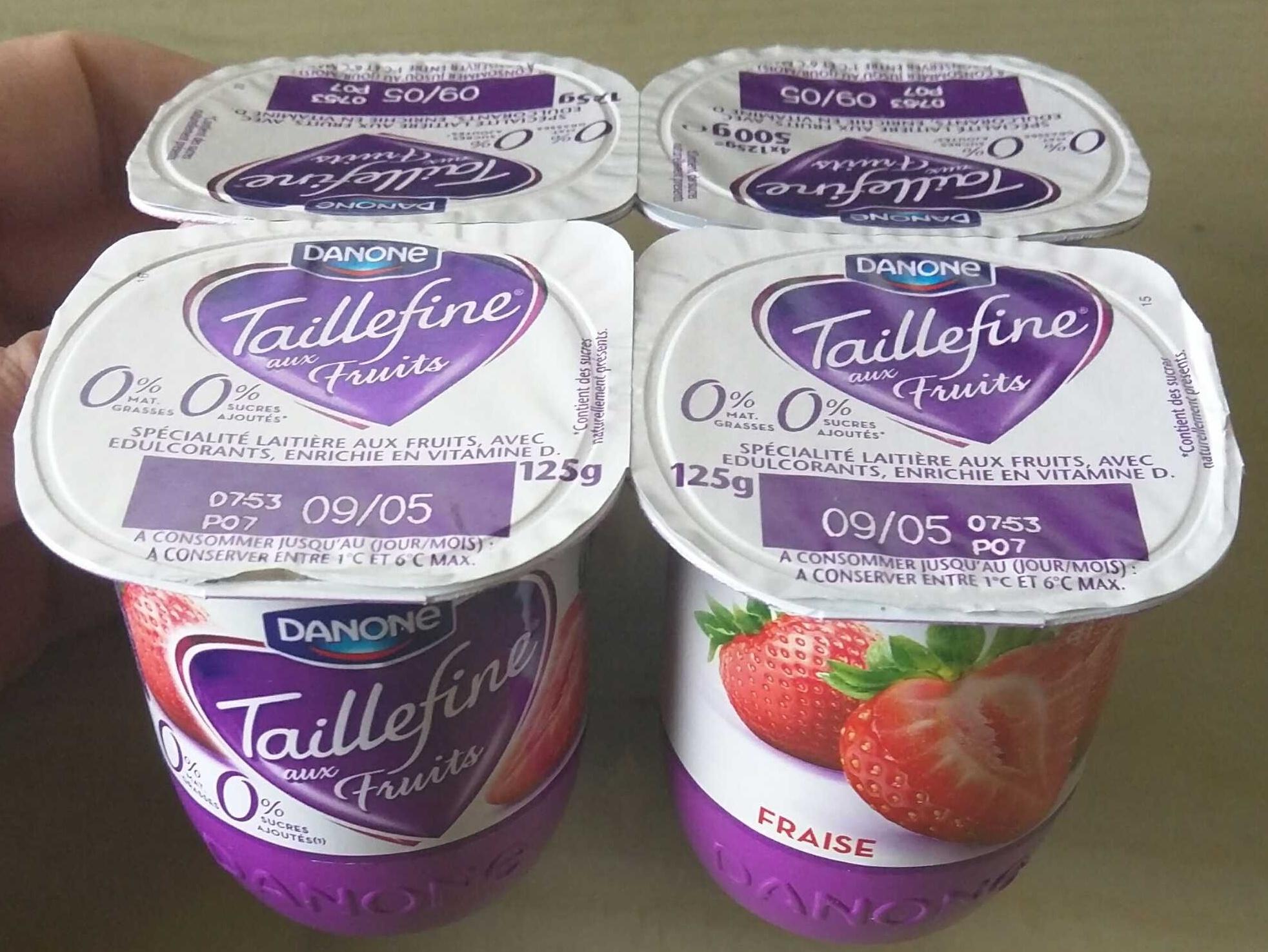 Taillefine aux Fruits Fraise - Product