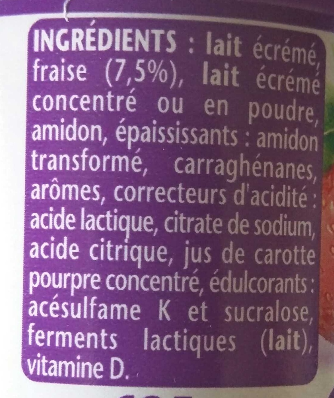 Taillefine aux Fruits Fraise - Ingredients