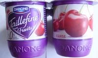 Taillefine aux Fruits (0 % MG, 0 % Sucres Ajoutés) Cerise - Prodotto - fr