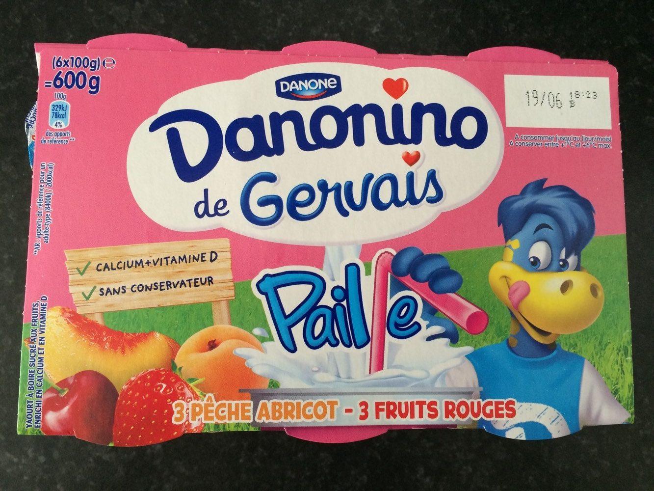Danonino de Gervais Paille - Product