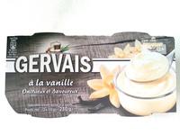 Gervais à la vanille - Produit