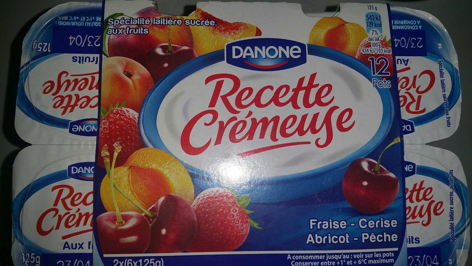 Recette Crémeuse - Product