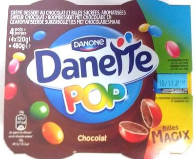 Danette Pop Chocolat billes Magix - Product - fr